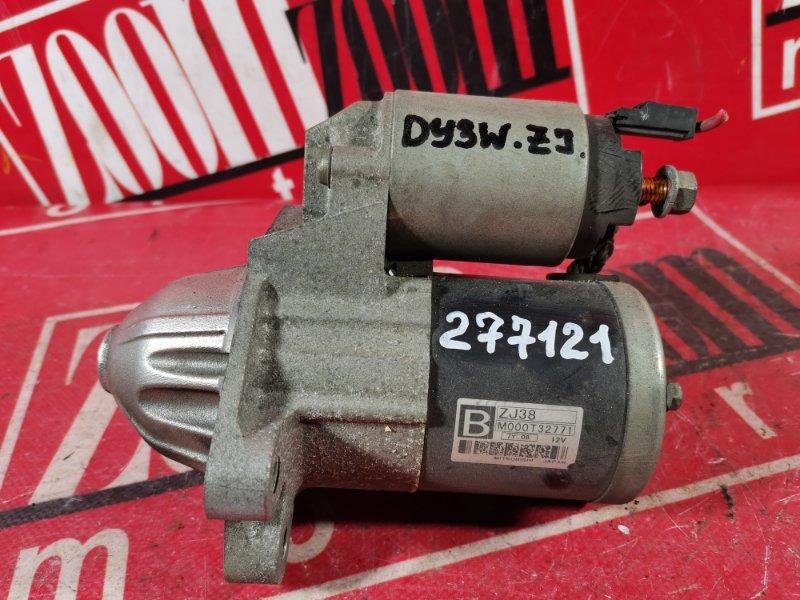 Стартер Mazda Demio DY3W ZJ-VE 2002