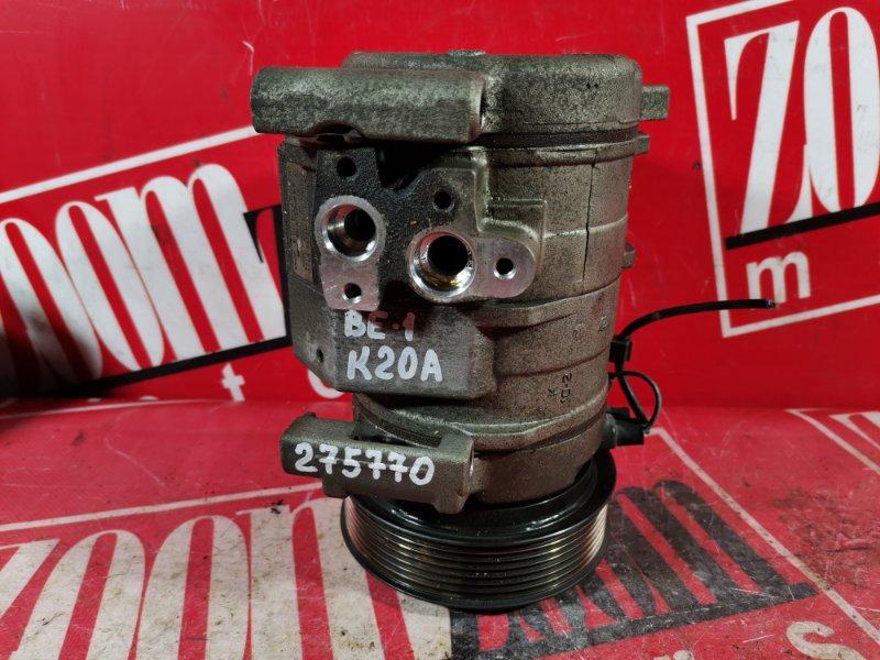 Компрессор кондиционера Honda Edix BE3 K20A 2004