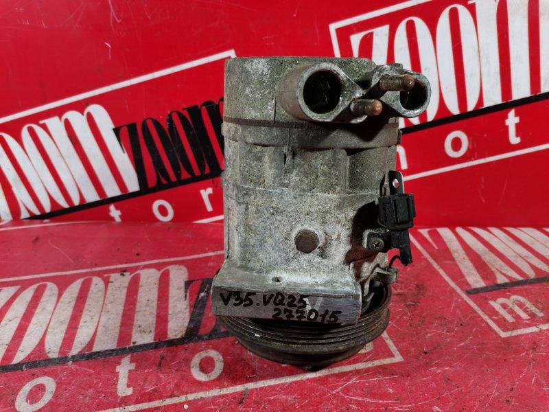 Компрессор кондиционера Nissan Skyline HV35 VQ25DD 2001