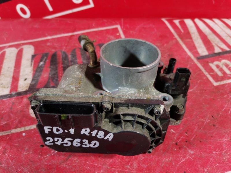 Заслонка дроссельная Honda Civic FD1 R18A 2005