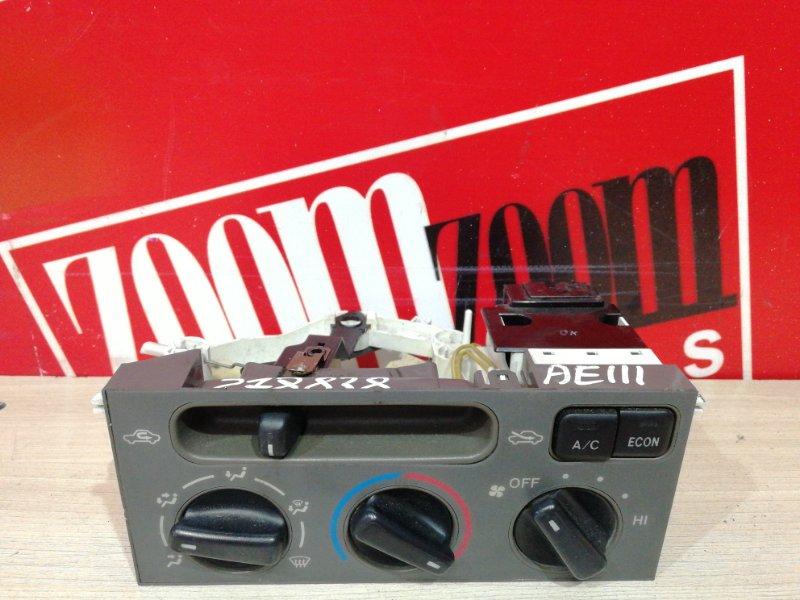 Блок управления отоплением и вентиляцией Toyota Corolla Spacio AE111N 4A-FE 1997