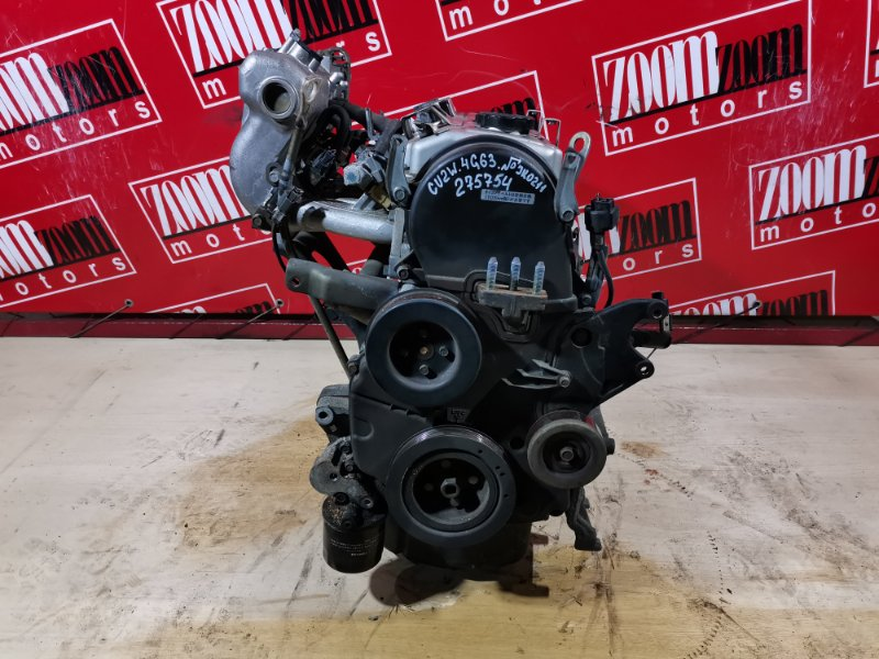 Двигатель Mitsubishi Airtrek CU2W 4G63 2001 JK0211