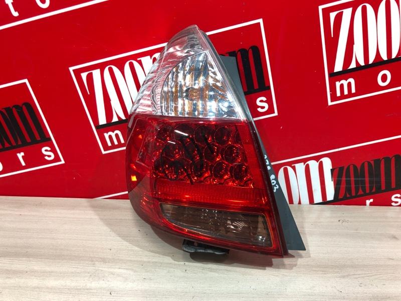 Фонарь (стоп-сигнал) Honda Fit GD1 L13A 2004 задний левый 4995