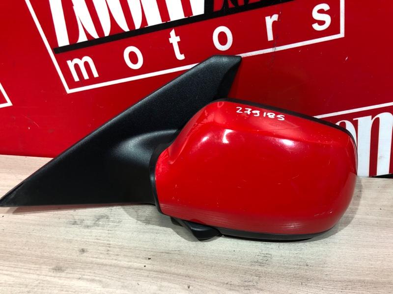 Зеркало боковое Mazda Axela BK5P ZY-VE 2003 левое красный