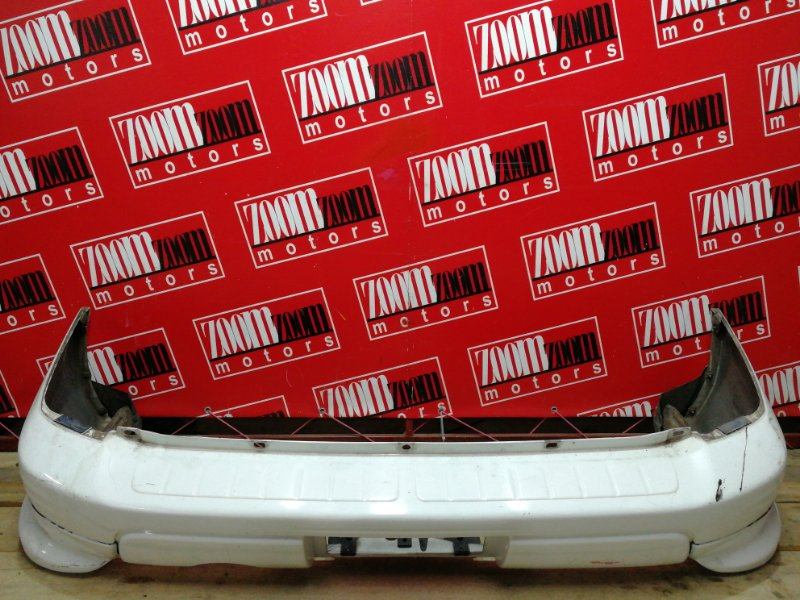 Бампер Subaru Forester SF5 EJ20 2000 задний белый