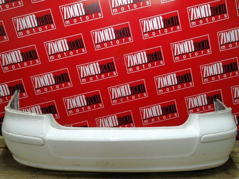 Бампер Toyota Avensis AZT250 1AZ-FSE 2002 задний белый