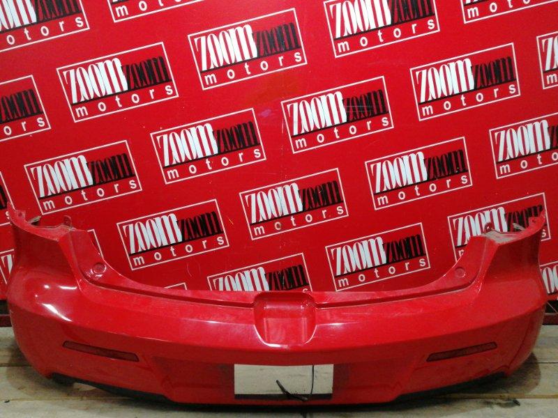 Бампер Mazda Axela BK5P ZY-VE 2003 задний красный