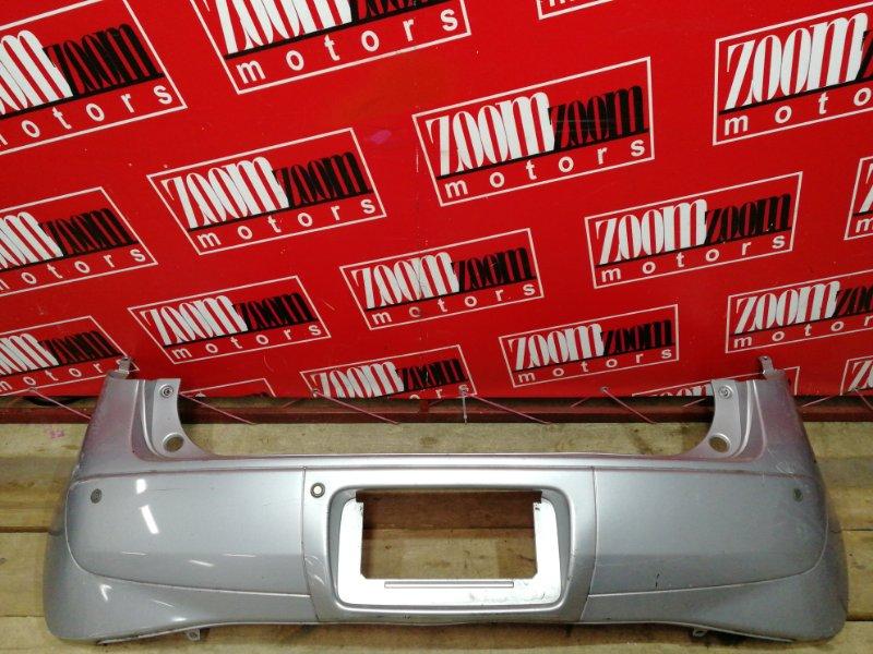Бампер Mitsubishi Colt Z21A 4A90 2004 задний серебро