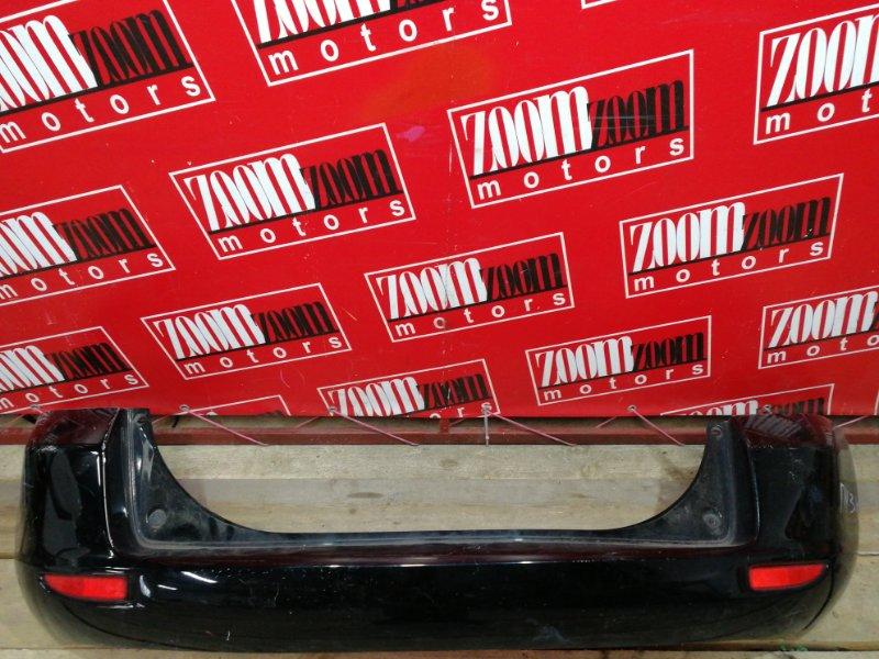 Бампер Mazda Demio DY3W ZJ-VE 2002 задний черный