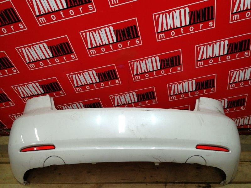 Бампер Mazda Atenza GGEP LF-DE 2002 задний белый перламутр