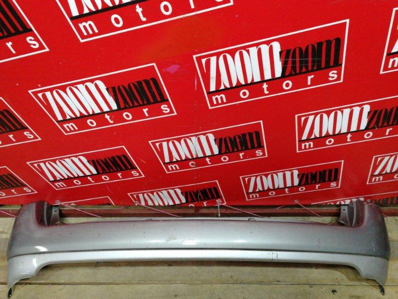 Бампер Toyota Probox NLP51V 1ND-TV 2002 задний серебро