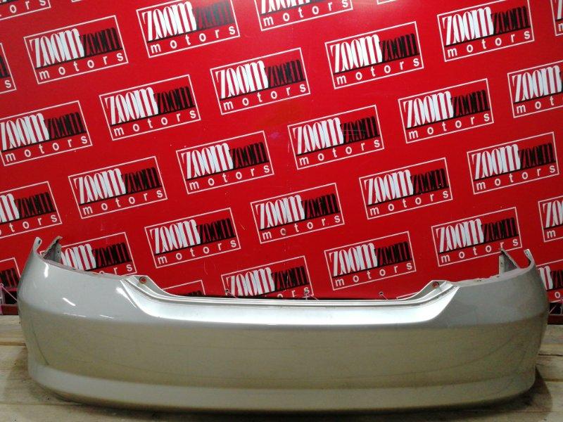 Бампер Honda Fit Aria GD6 L13A 2002 задний золото