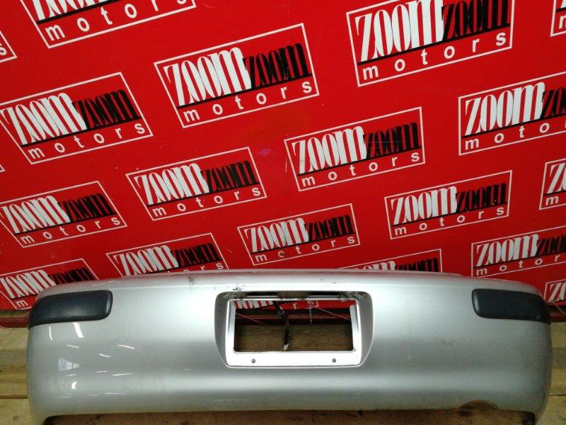 Бампер Toyota Corolla Spacio AE111N 4A-FE 1997 задний серебро