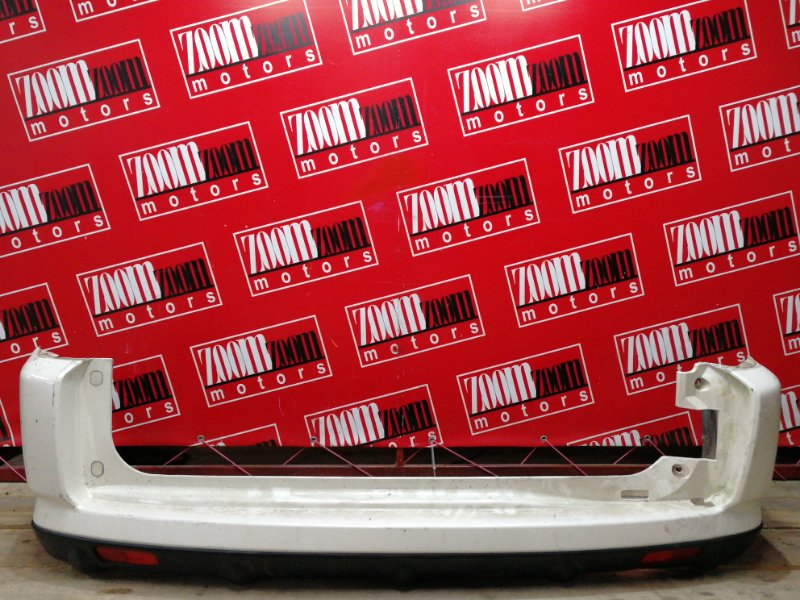 Бампер Honda Cr-V RD5 K20A 2001 задний белый перламутр