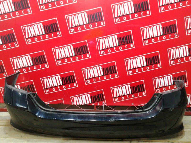 Бампер Honda Fit GD1 L13A 2004 задний черный
