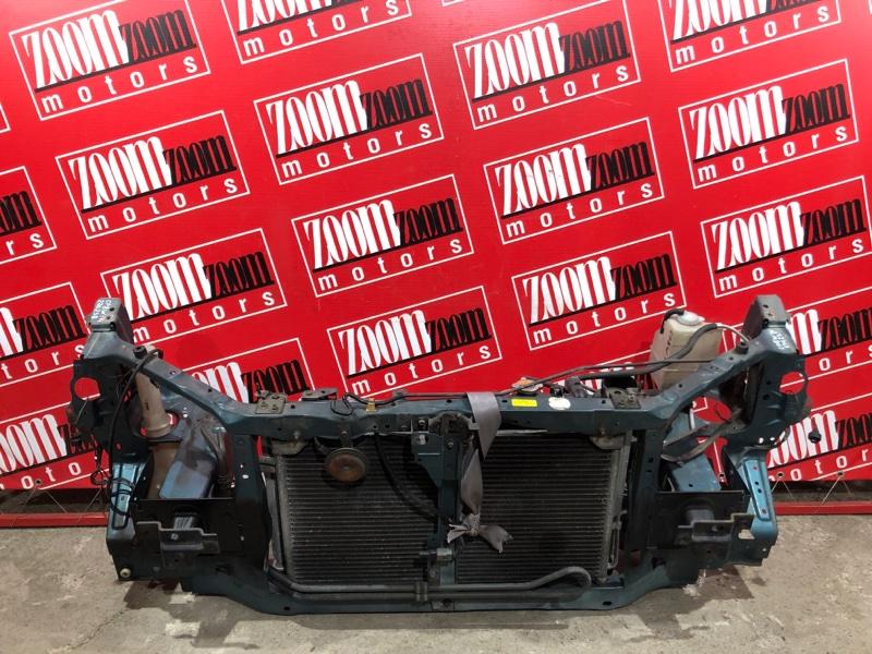Рамка радиатора Mazda Premacy CP8W FP-DE 1998 передняя бирюзовый