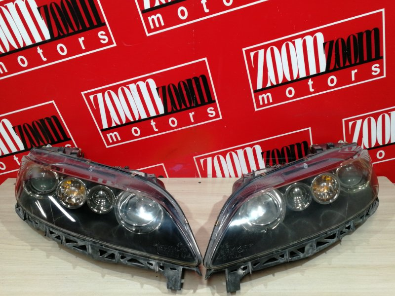 Фара Mazda Atenza GG3S L3-VE 2002 передняя 13-44
