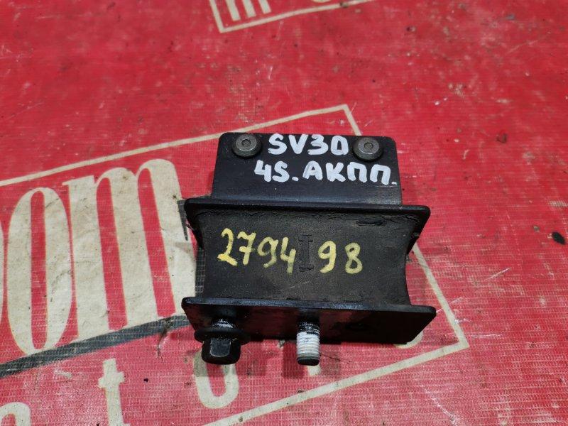 Подушка кпп Toyota Camry SV30 3S-FE 1990 передняя левая