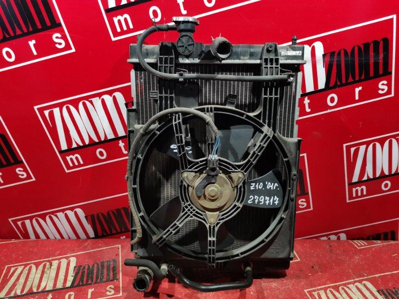 Радиатор двигателя Nissan Cube AZ10 CG13DE 1998