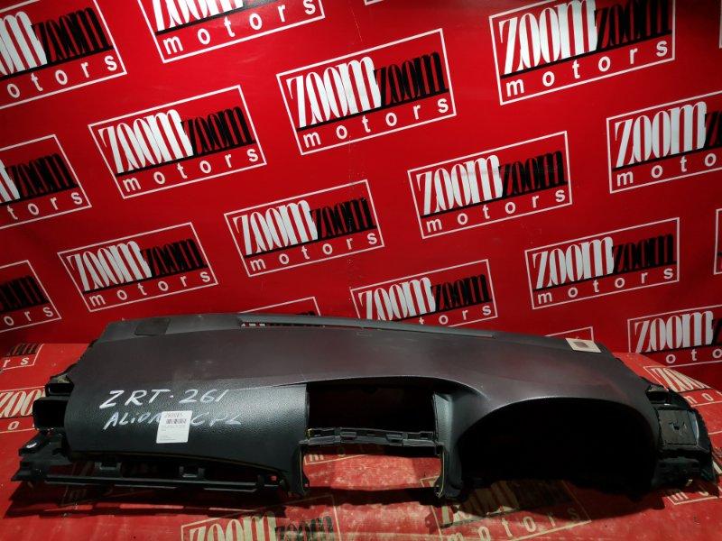 Панель передняя в салон (торпеда) Toyota Allion ZRT261 2ZR-FE 2007 черный