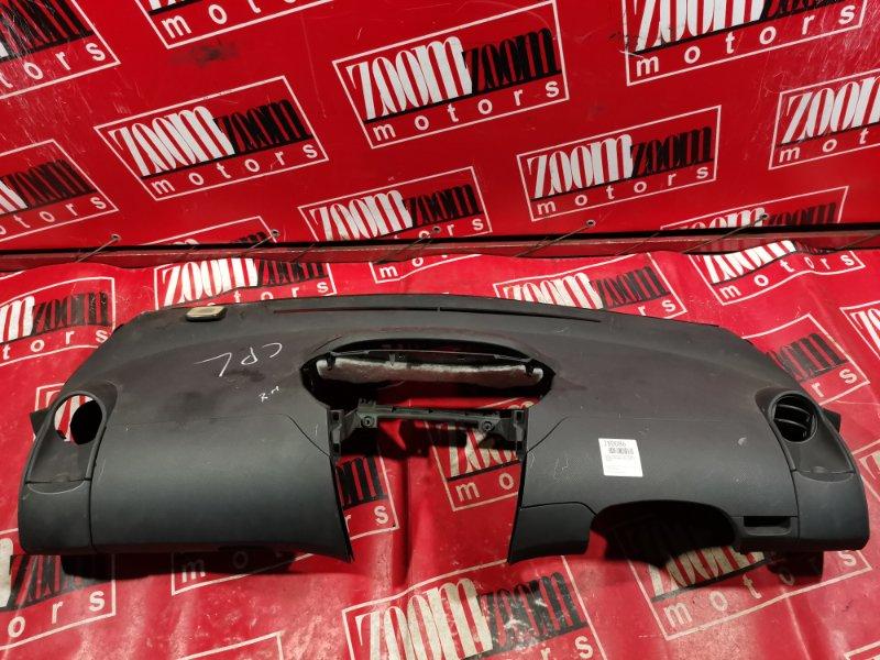 Панель передняя в салон (торпеда) Toyota Vitz KSP90 1KR-FE 2005 черный