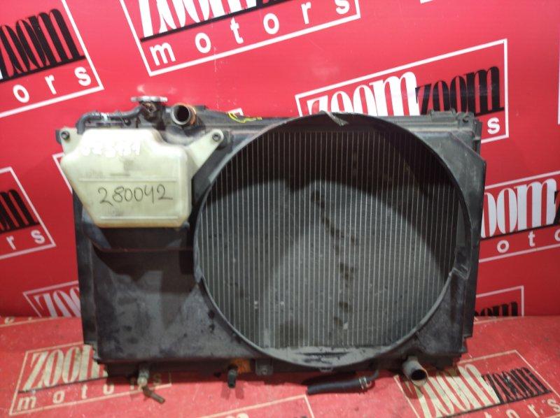 Радиатор двигателя Toyota Crown JZS151 1JZ-GE 1997 передний