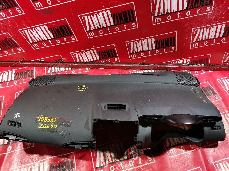 Панель передняя в салон (торпеда) Toyota Wish ZGE20 3ZR-FAE 2009 серый