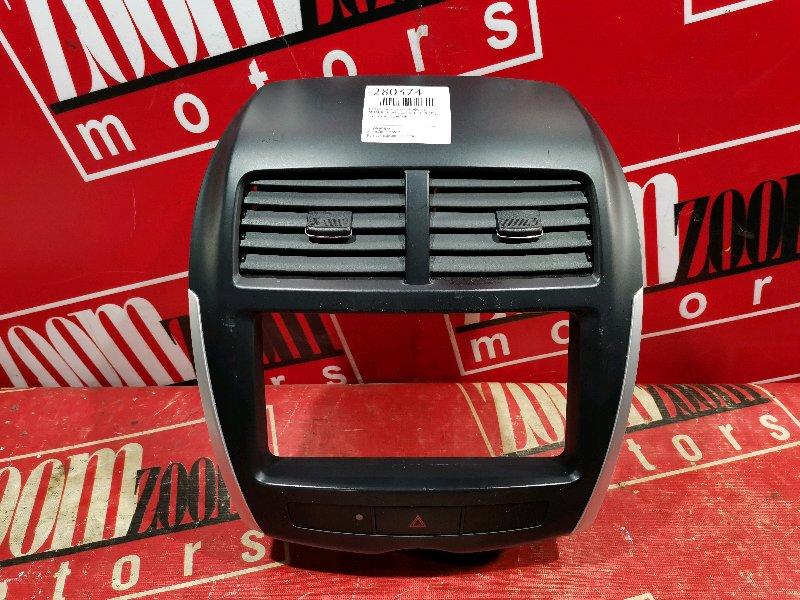 Рамка (консоль магнитофона) Mitsubishi Asx GA3W 4B10 2010