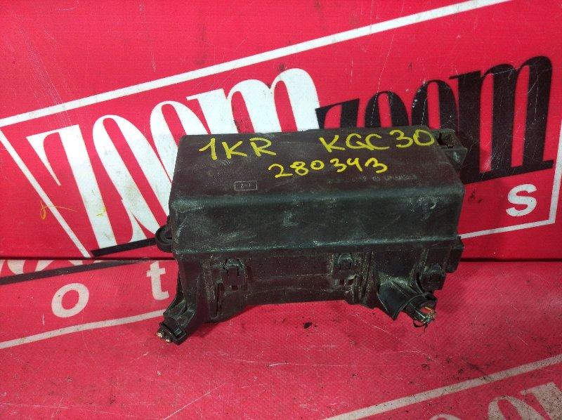 Блок реле и предохранителей Toyota Passo KGC30 1KR-FE 2010