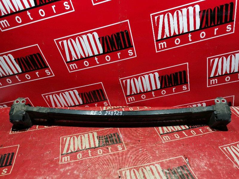 Усилитель бампера Honda Stepwgn RF5 K20A 2003 передний черный