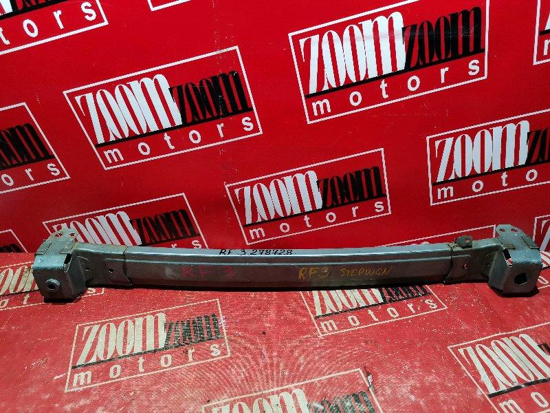 Усилитель бампера Honda Stepwgn RF3 K20A 2001 передний голубой