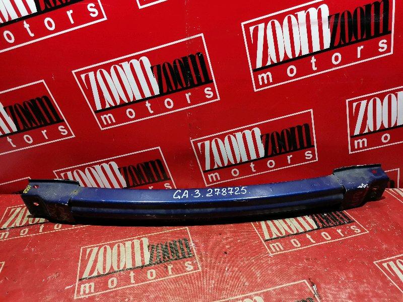Усилитель бампера Honda Logo GA3 D13B 2000 передний голубой