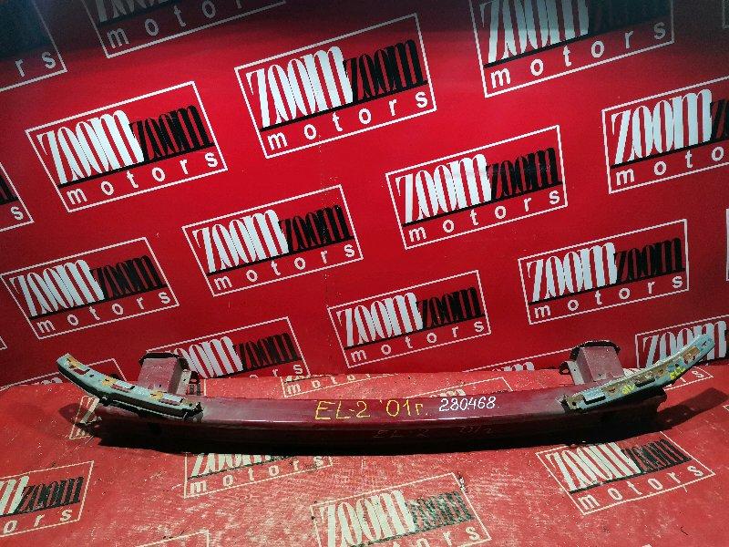 Усилитель бампера Honda Orthia EL2 B20B 2001 передний красный
