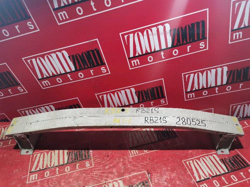 Усилитель бампера Suzuki Aerio RB21S M15A 2001 передний белый