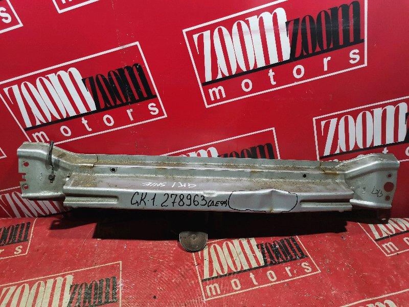 Усилитель бампера Honda Mobilio Spike GK1 L15A 2002 передний серебро
