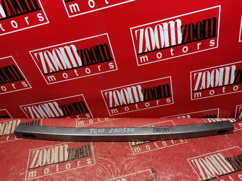 Усилитель бампера Nissan Bluebird Sylphy TG10 QG15DE 1999 передний нижний серый