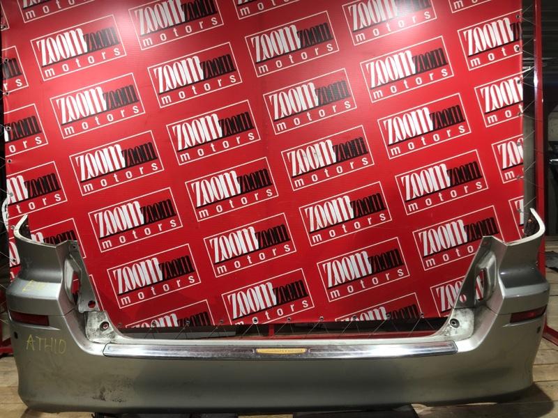 Бампер Toyota Alphard ANH10 2AZ-FXE 2002 задний серебро