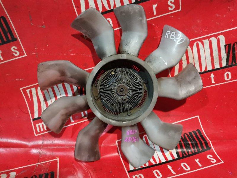 Вискомуфта вентилятора радиатора Nissan Laurel HC35 RB20DE 1998