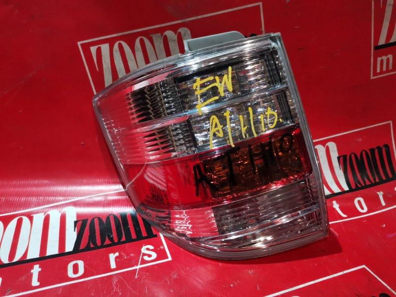 Фонарь (стоп-сигнал) Toyota Alphard ANH10 2AZ-FXE 2002 задний левый 58-11