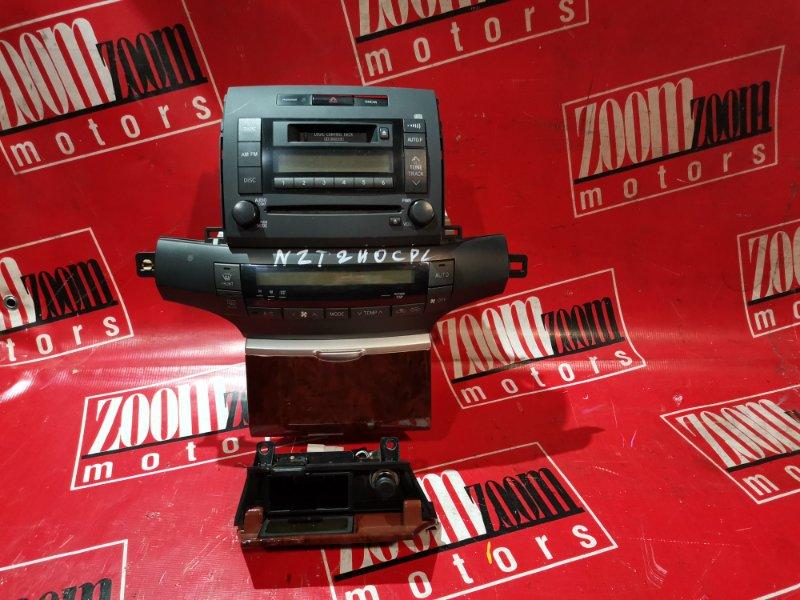 Блок управления отоплением и вентиляцией Toyota Premio AZT240 1AZ-FSE 2001