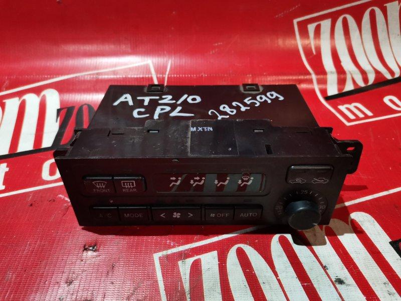 Блок управления отоплением и вентиляцией Toyota Corona Premio AT210 5A-FE 1996