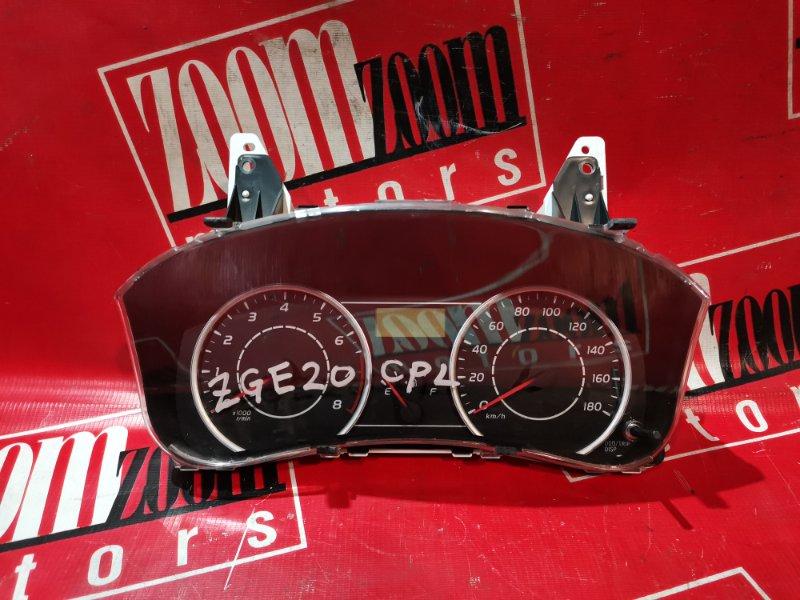 Комбинация приборов (спидометр) Toyota Wish ZGE20 2ZR-FAE 2009 83800-68140
