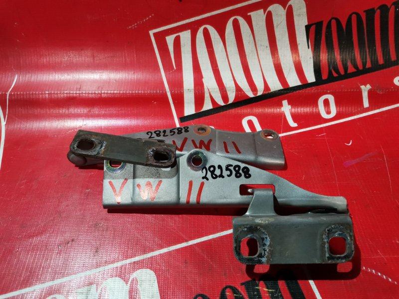 Кронштейн капота Nissan Expert VW11 QG18DE 1998 серебро