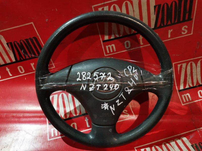 Руль Toyota Premio AZT240 1AZ-FSE 2001 черный