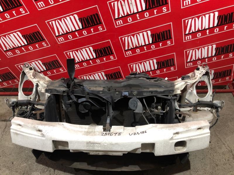 Рамка радиатора Toyota Crown Majesta UZS186 3UZ-FE 2004 передняя белый перламутр