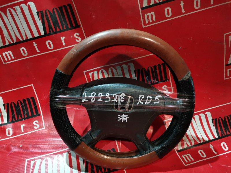 Руль Honda Cr-V RD5 K20A 2001 черный