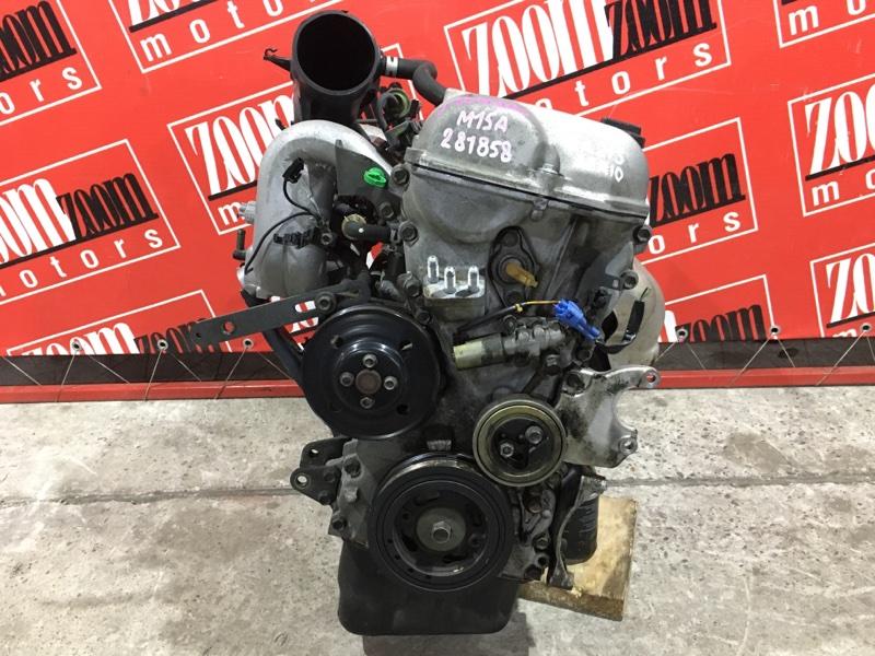 Двигатель Suzuki Aerio RA21S M15A 2001 1011960