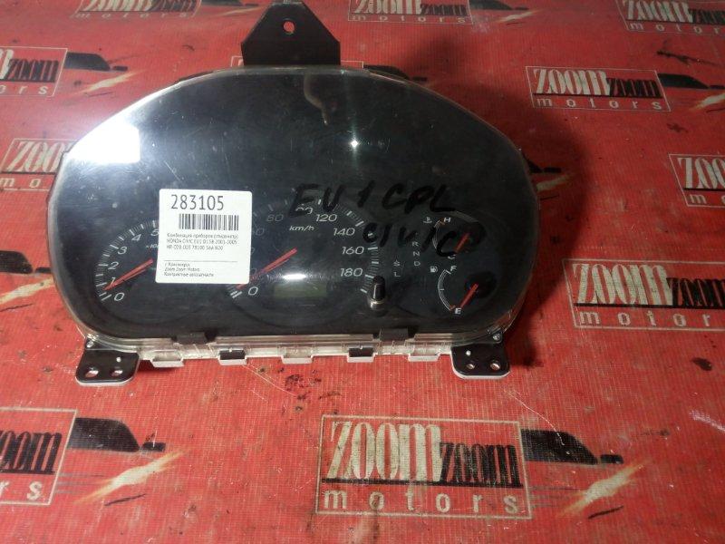 Комбинация приборов (спидометр) Honda Civic EU1 D15B 2001 HR-028-003, 78100, S6A, N20