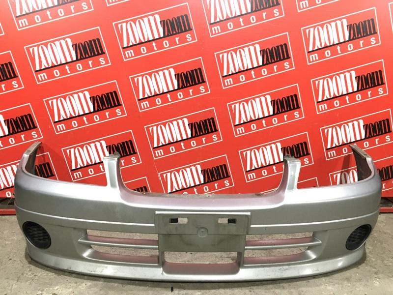 Бампер Nissan Expert VW11 QG18DE 1998 передний серебро