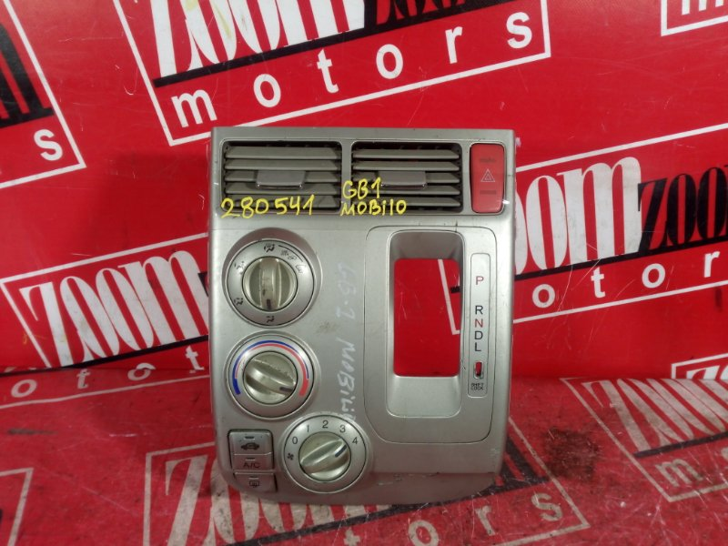 Блок управления отоплением и вентиляцией Honda Mobilio GB1 L15A 2001